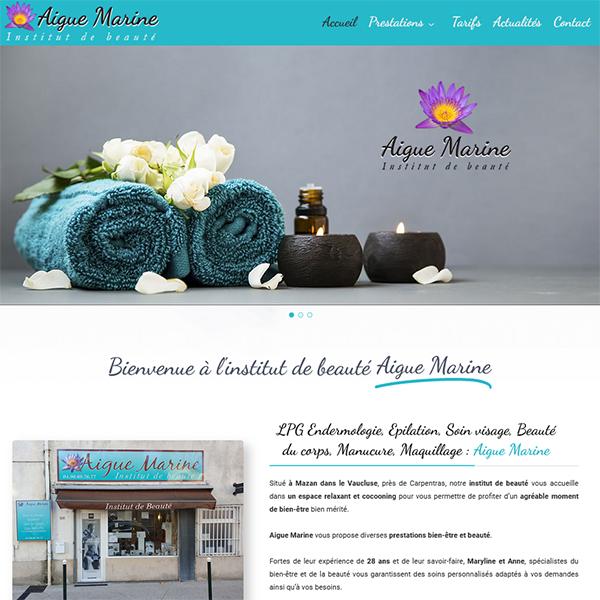 www.institut-beaute-aigue-marine.fr